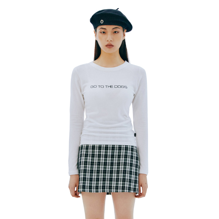 C BASIC LETTERING T-SHIRT_WHITE[현아 착용]