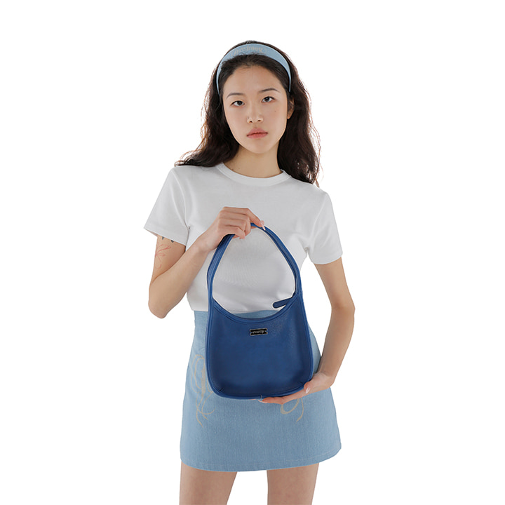 C TWO WAY SHOULDER BAG_BLUE