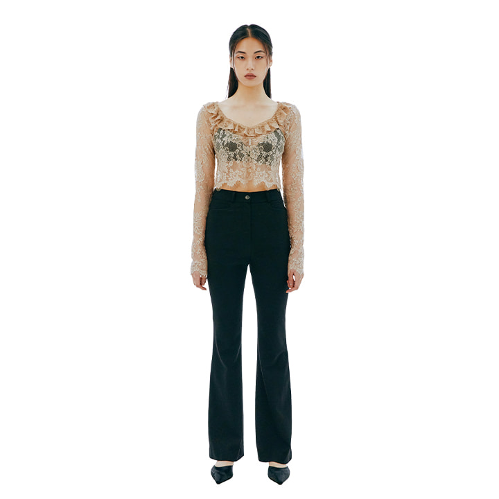 C HIGHWAIST WOOL PANTS_BLACK